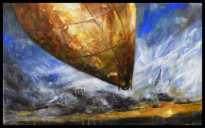 John Galts Airship by Matthew Ramada