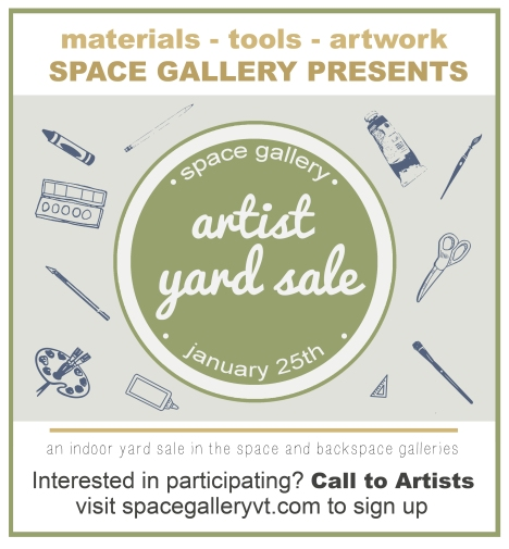 Indoor Artist Yard Sale!