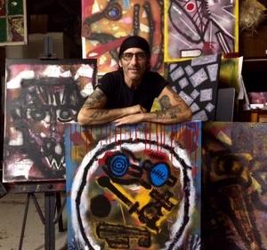 Frank DeAngelis in the Studio