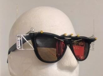 Aaron Stein, 'Trucking Glasses', mixed media