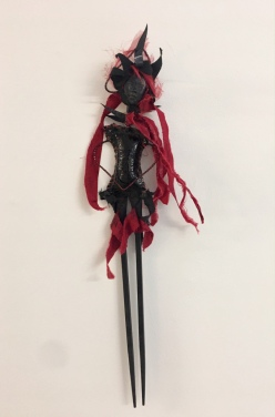 Athena Kafantaris, 'Corazon', mixed media doll