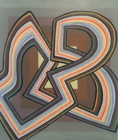 Brooke Monte, 'Ribbon', oil on canvas