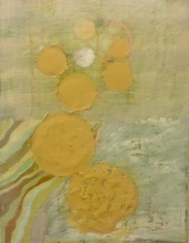 Catherine Hall, 'Moondance', encaustic, acrylic on canvas