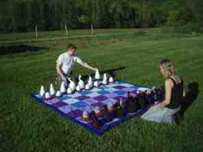 Chess Set by Martha Hull
