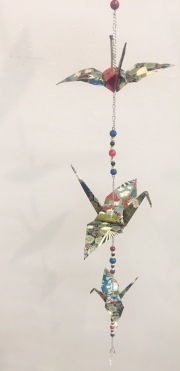 Megan Rose, 'Peace and Good Luck', paper and gemstones