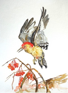 Nancy Tomczak, 'Fall Flicker', watercolor