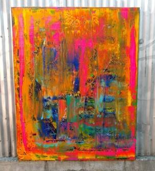 Emotion Ocean, acrylic by Stephen Sharon