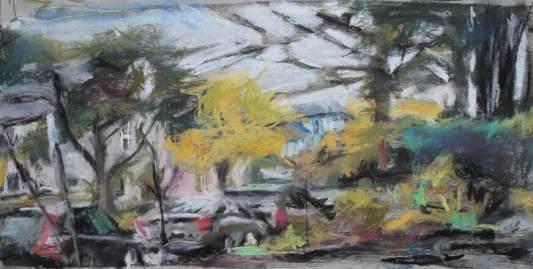 Aleyna Feinburg, Untitled N Ave, mixed media