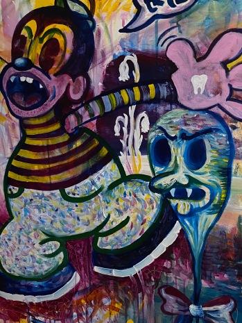 Dakin Fuller, Fear of Nonbeing, acrylic on canvas