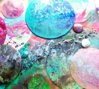 Keith Mailhotte, Planet Gathering, mixed medium