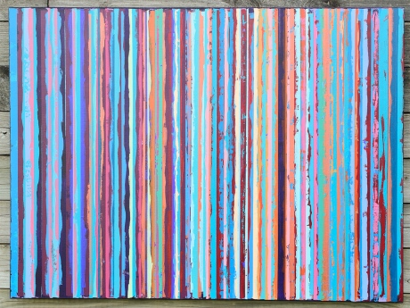 Matt Larson, Mystery and Manifestations, acrylic